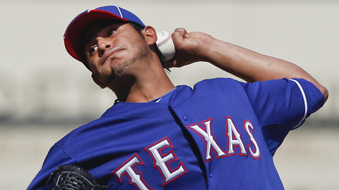 Martin Perez was signed by the Texas Rangers as a non-drafted free agent in 2007.