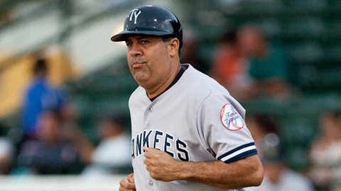 Luis Sojo owns a 419-346 record in six years with the Tampa Yankees.