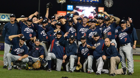 The Aces won the title for the first time since moving from Tucson.